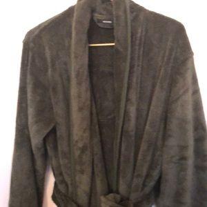 Alfani Dark green bath robe one size